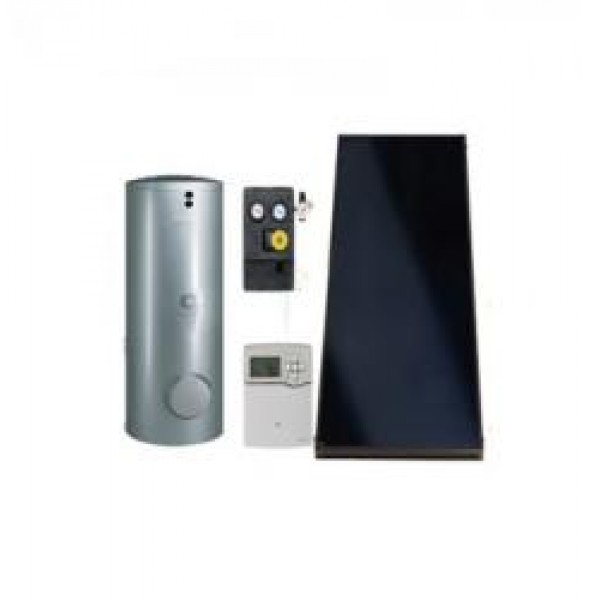 Panouri Solare Viessmann Vitosol 200-FM cu boiler bivalent Vitocell de 300L (SK06097)