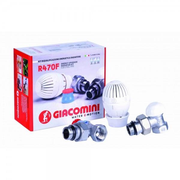 Giacomini Set robineti termostatati (R470FX003)