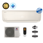 Gree Aer conditionat GWH12AAB-K6DNA4A, Bora A4, Silver, 12000 BTU cu Kit Instalare inclus