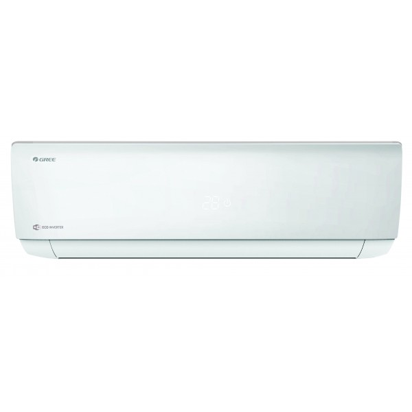 GREE Aer conditionat Bora Eco Inverter A4 Silver 9000 BTU - GWH09AAB-K6DNA4A, Wi-Fi cu Kit Instalare inclus