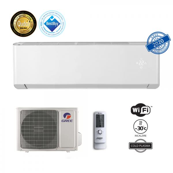 Gree aer conditionat Amber GWH18YE-S6DBA1A 18000 BTU, Wi-Fi, COLD PLASMA