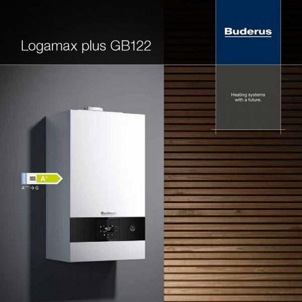 Buderus Logamax GB122 24/30 incalzire si acm instant