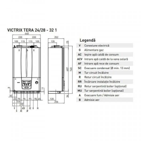 Immergas Centrala termica Victrix Tera 32 1 Erp 32 kw (3.027371)