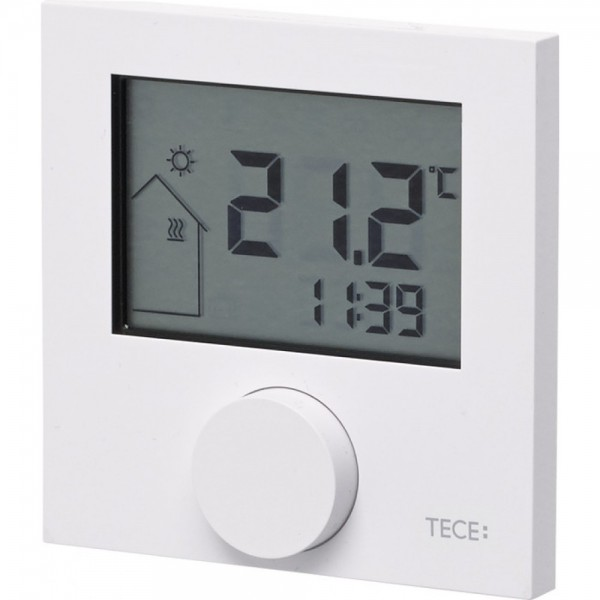 TECE Termostat de camera TECEfloor, afisaj digital RT-D 230 Control (77410035)
