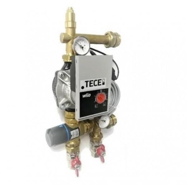TECE Grup amestec si pompare cu vana termostatica 3 cai + pompa WIlo (77840034)
