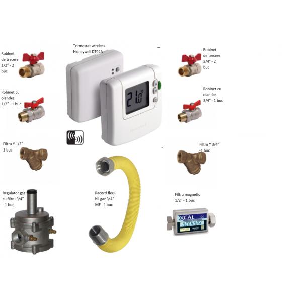 Pachet instalare centrale termice pe gaz - Premium