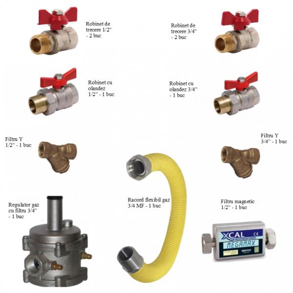 Pachet instalare centrale termice pe gaz - Complet