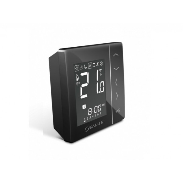 Salus Termostat RF cu baterii (negru) VS20BRF