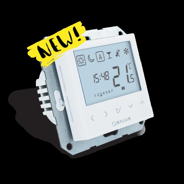 Salus Termostat programabil, 230V, butoane tactile,  fără ramă aparat BTRP230