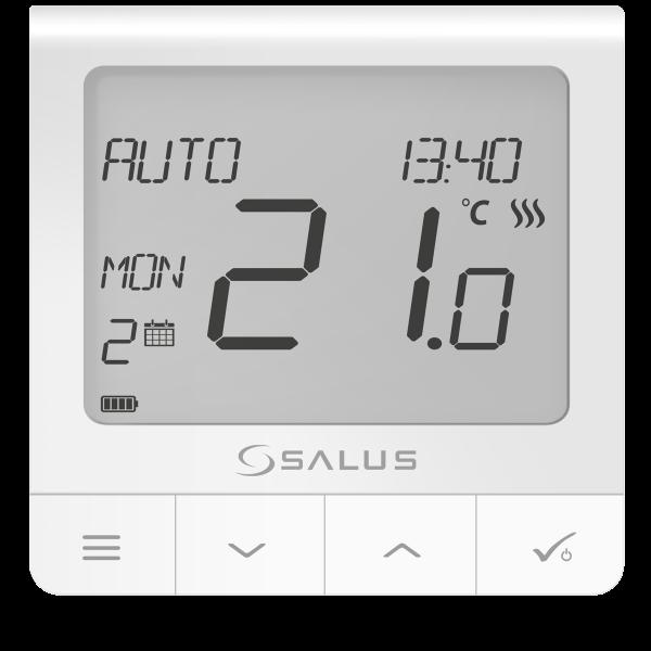 Salus Termostat seria Quantum cu radio comandă,  ecran extins si funcții avansate WQ610RF