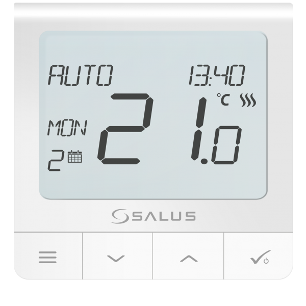 Salus Termostat RF seria Quantum pentru doză, 230V SQ610