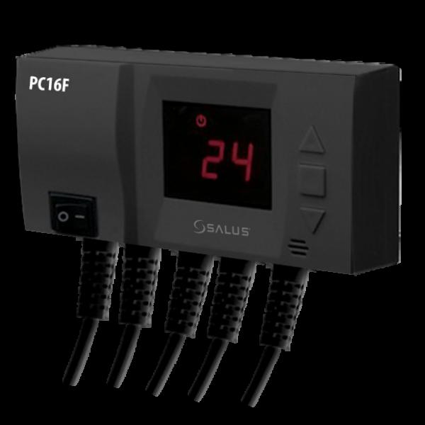 Salus Controler pentru pompă și ventilator PC16F