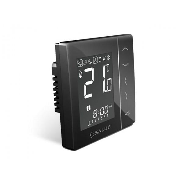 Salus Termostat RF negru, pentru doză, 230V VS10WRF