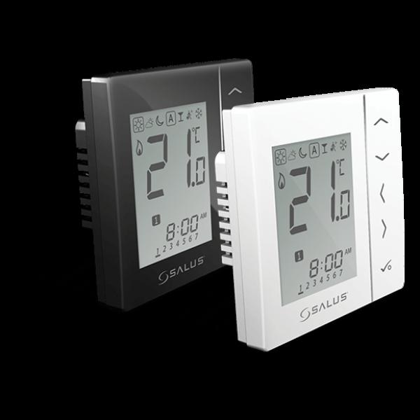 Salus Termostat programabil alb, montaj în doză,  butoane tactile VS30W