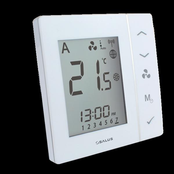 Salus Termostat pentru ventiloconvector (alb, montaj în doză) FC600