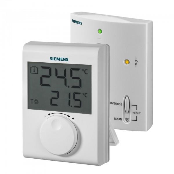 Siemens Termostat digital, neprogramabil, fara fir (RDH100RF/SET)