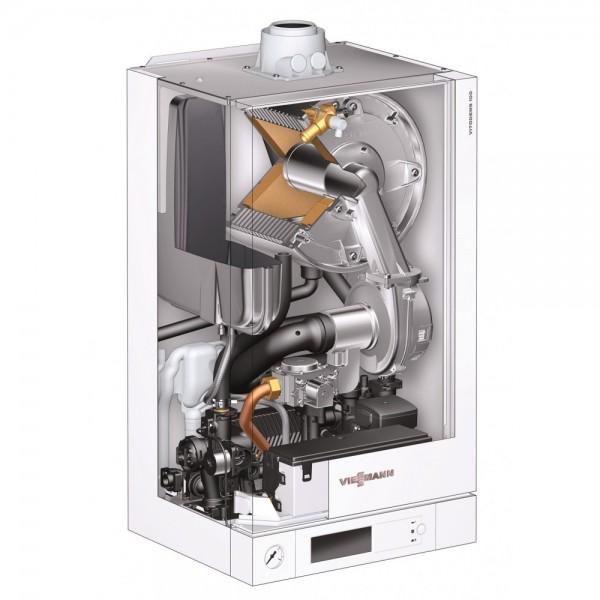 CADOU Termostat Wireless la Viessmann Vitodens 100-W 26 kW Incalzire (B1HC178)