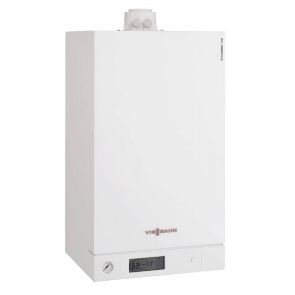 Viessmann Vitodens 100-W 35 KW pentru instalatii solare (B1HC406)