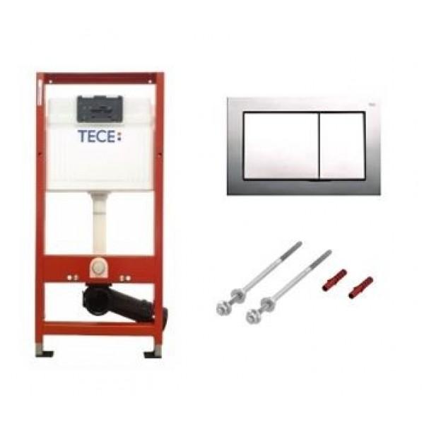 TECE Rezervor WC Ingropat Cu Clapeta Crom Lucios (9400006)